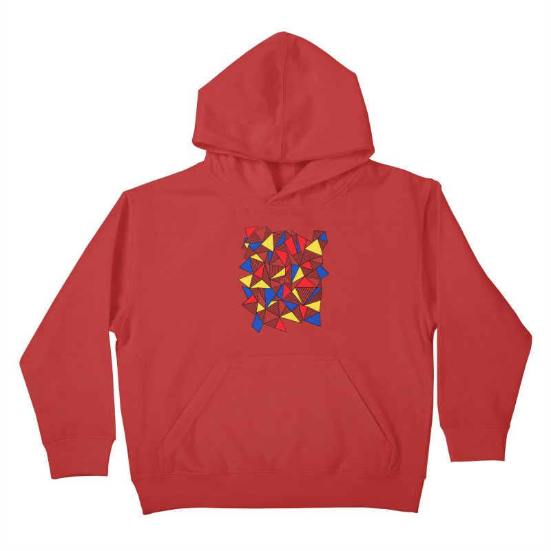 Ab Blocks Mond Kids Pullover Hoody by Project M's Artist Shop