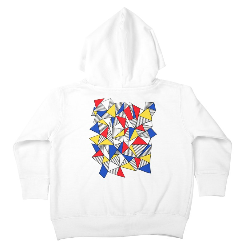 Ab Blocks Mond Kids Toddler Zip-Up Hoody by Project M's Artist Shop