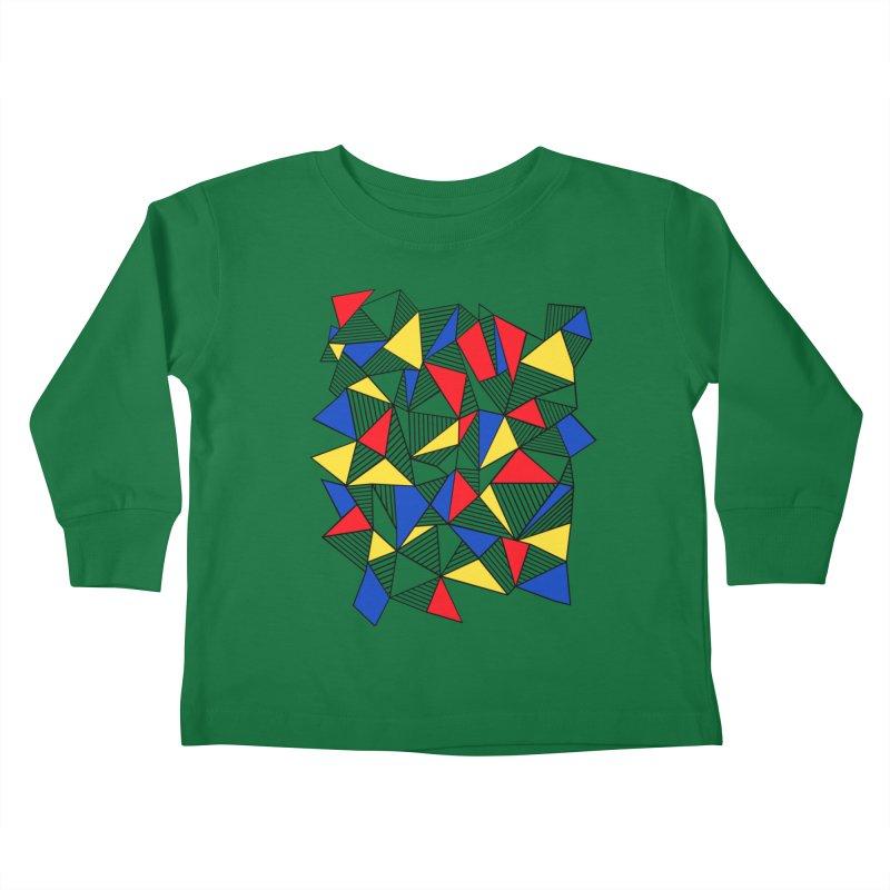 Ab Blocks Mond Kids Toddler Longsleeve T-Shirt by Project M's Artist Shop