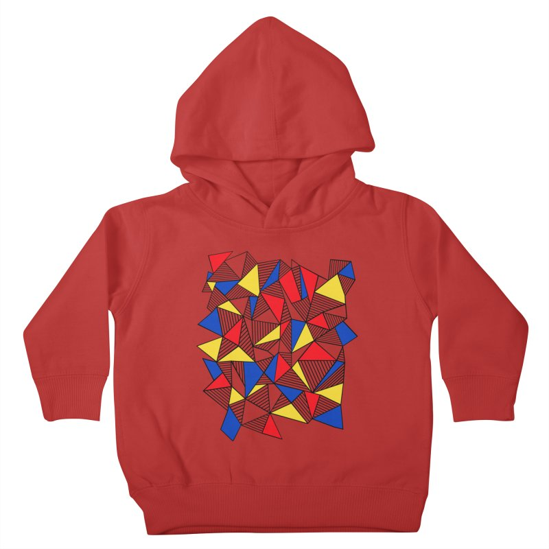 Ab Blocks Mond Kids Toddler Pullover Hoody by Project M's Artist Shop
