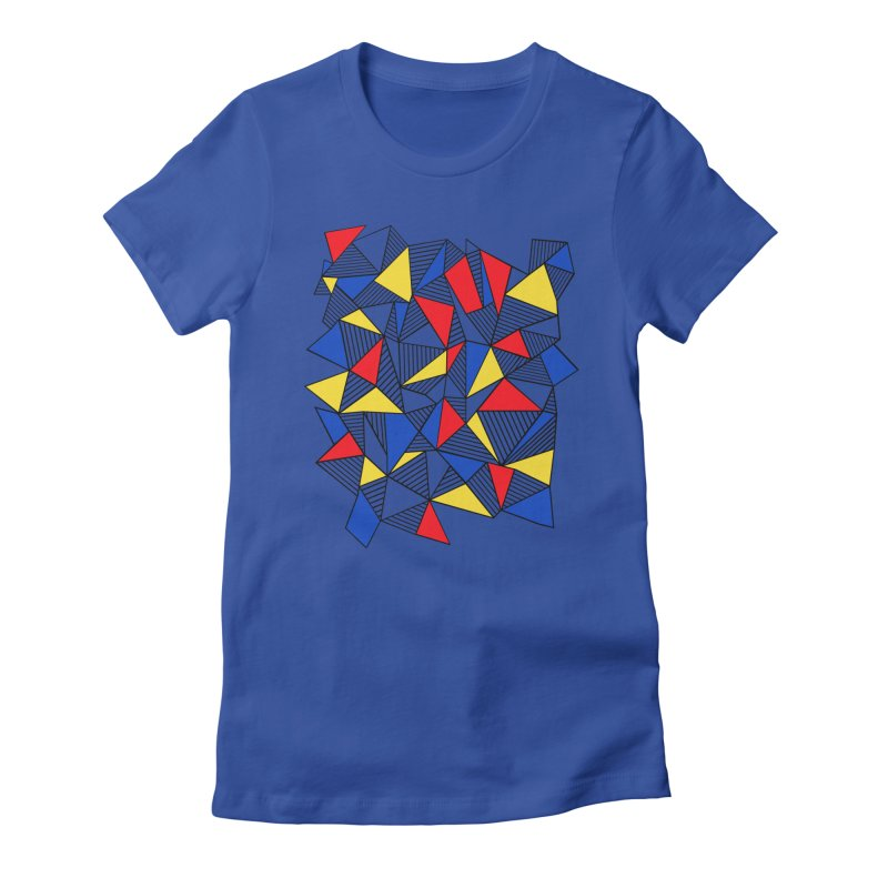 Ab Blocks Mond Women's Fitted T-Shirt by Project M's Artist Shop