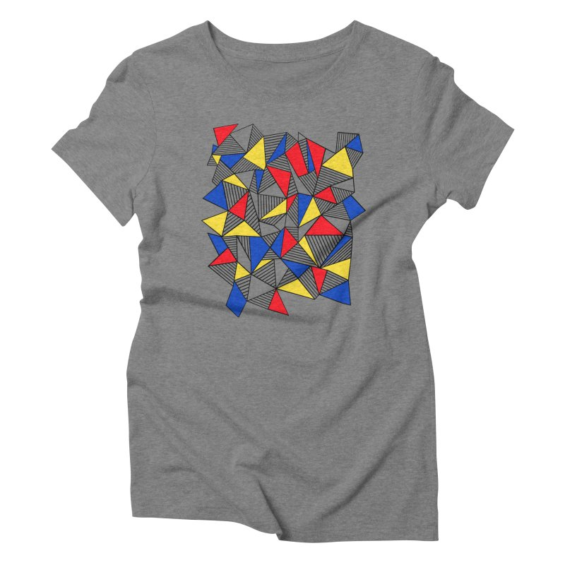 Ab Blocks Mond Women's Triblend T-Shirt by Project M's Artist Shop