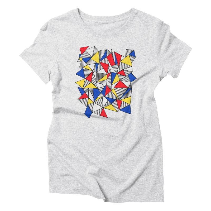 Ab Blocks Mond Women's Triblend T-Shirt by Project M's Artist Shop