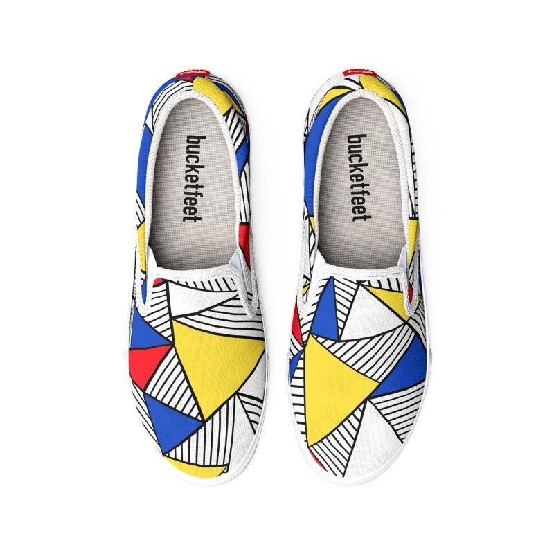 Ab Blocks Mond Men's Shoes by Project M's Artist Shop