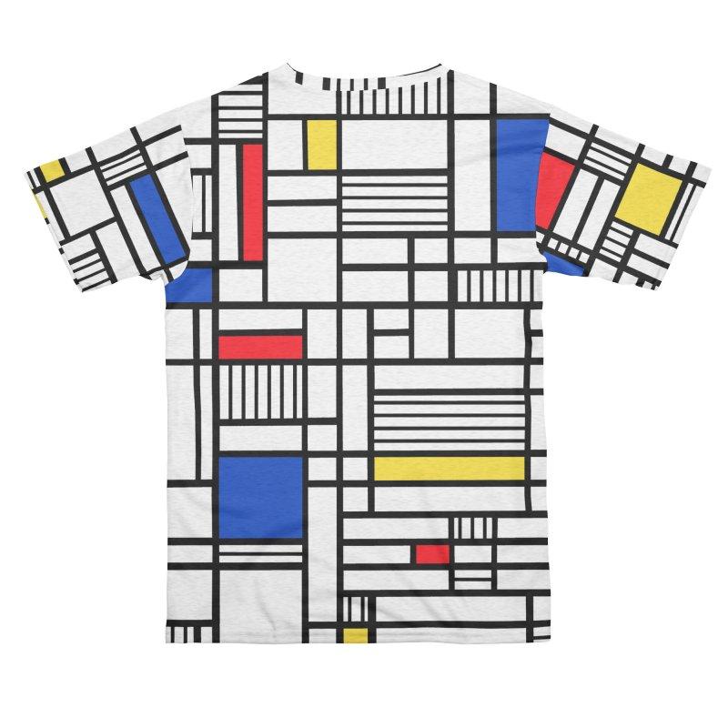 Map Lines Mond Women's Cut & Sew by Emeline