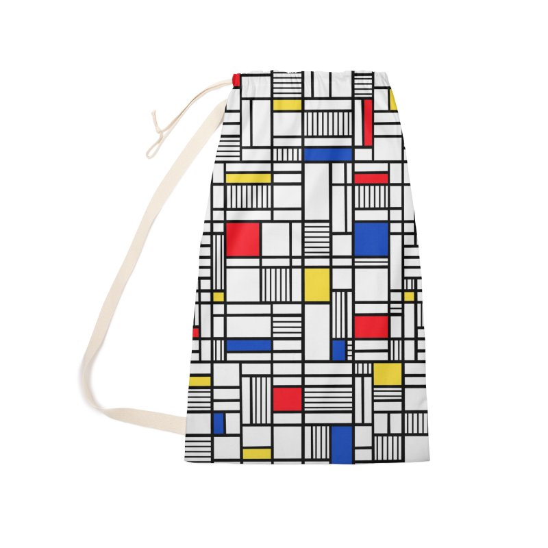 Map Lines Mond Accessories Laundry Bag Bag by Project M's Artist Shop