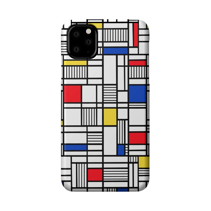 Map Lines Mond Accessories Phone Case by Project M's Artist Shop