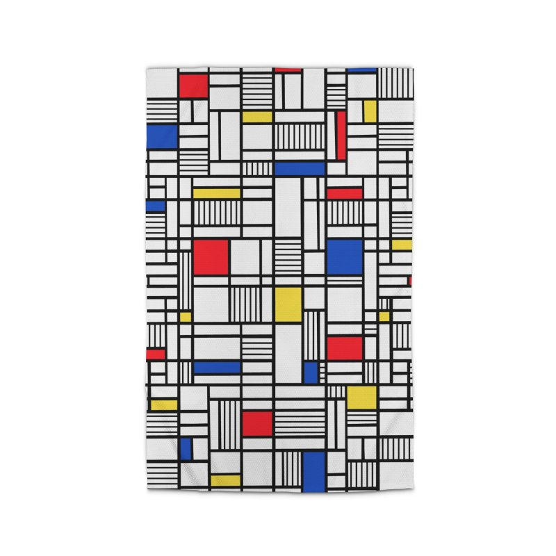 Map Lines Mond Home Rug by Project M's Artist Shop