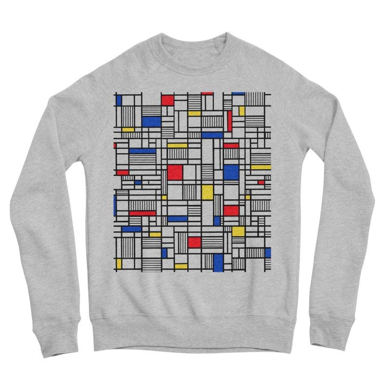 Map Lines Mond Women's Sponge Fleece Sweatshirt by Project M's Artist Shop
