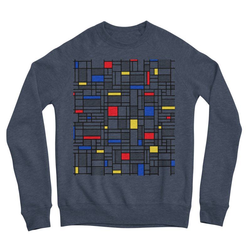 Map Lines Mond Men's Sponge Fleece Sweatshirt by Project M's Artist Shop