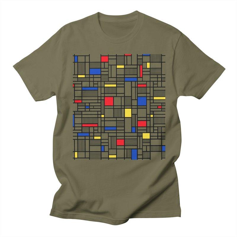 Map Lines Mond Women's Regular Unisex T-Shirt by Project M's Artist Shop