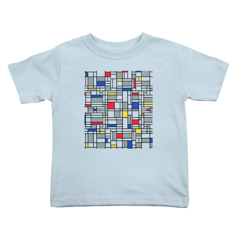 Map Lines Mond Kids Toddler T-Shirt by Project M's Artist Shop