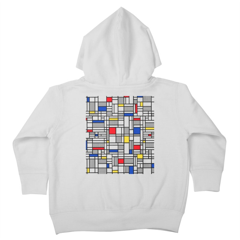 Map Lines Mond Kids Toddler Zip-Up Hoody by Project M's Artist Shop