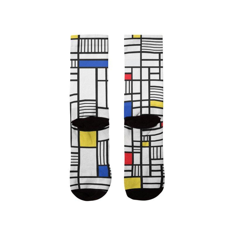 Map Lines Mond Women's Socks by Emeline