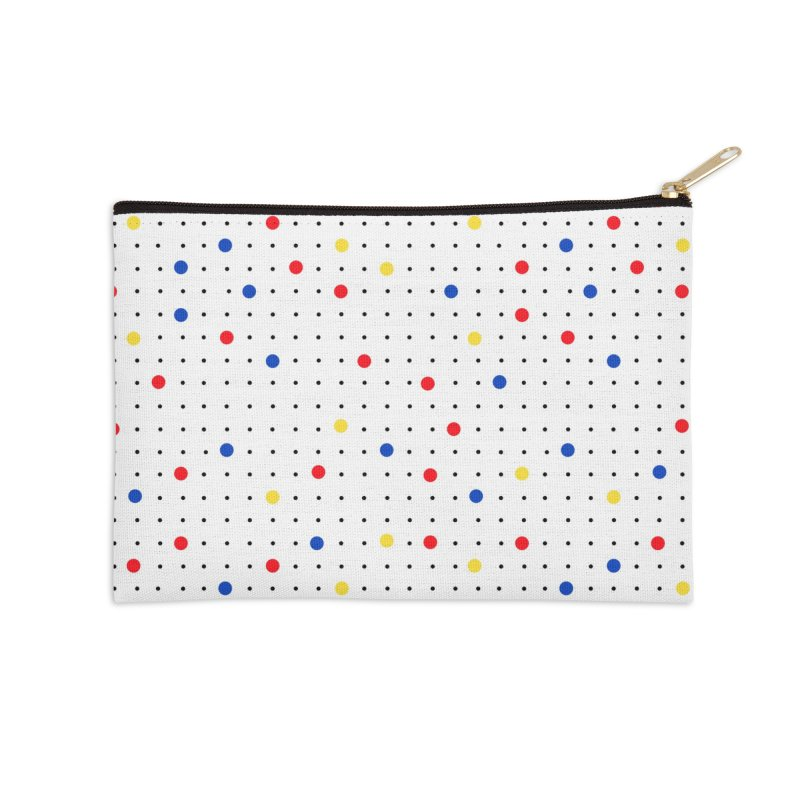 Pin Point Mond Accessories Zip Pouch by Project M's Artist Shop