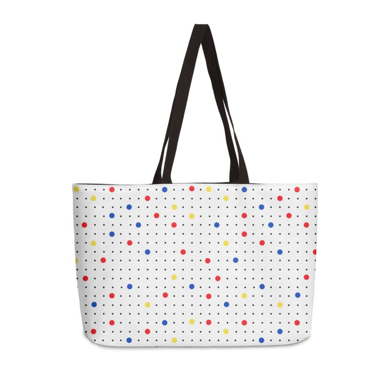 Pin Point Mond Accessories Weekender Bag Bag by Project M's Artist Shop
