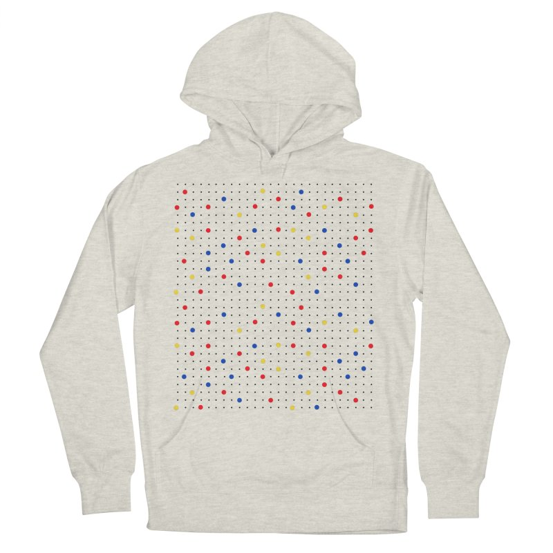Pin Point Mond Men's French Terry Pullover Hoody by Project M's Artist Shop