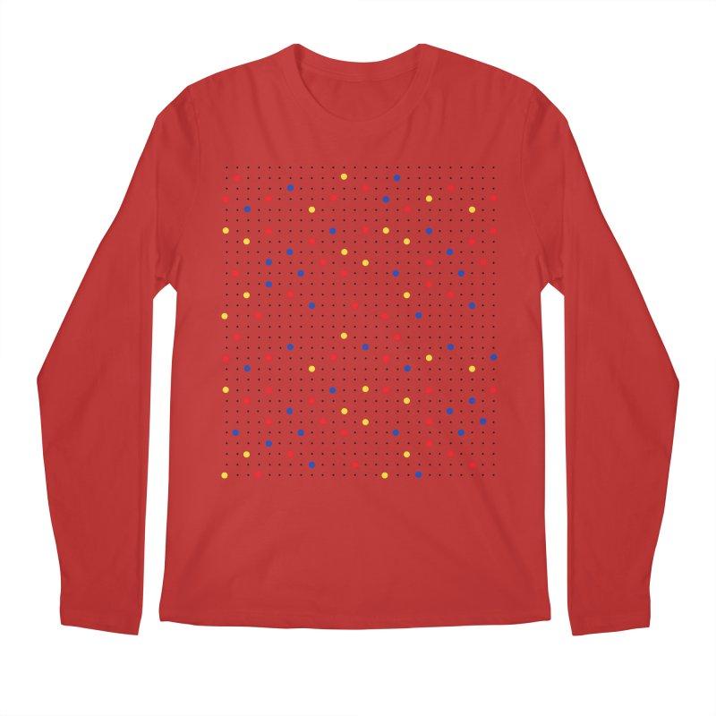Pin Point Mond Men's Regular Longsleeve T-Shirt by Project M's Artist Shop