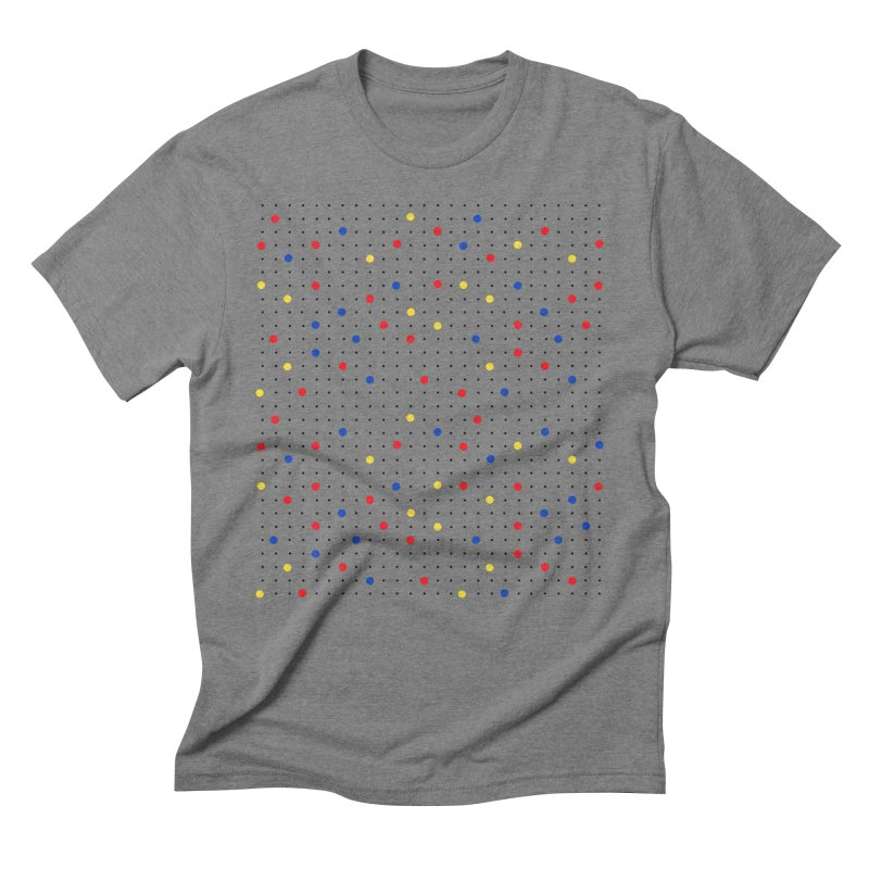 Pin Point Mond Men's Triblend T-Shirt by Project M's Artist Shop