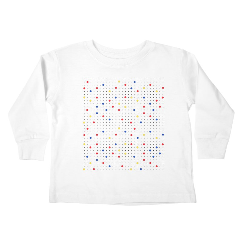 Pin Point Mond Kids Toddler Longsleeve T-Shirt by Project M's Artist Shop