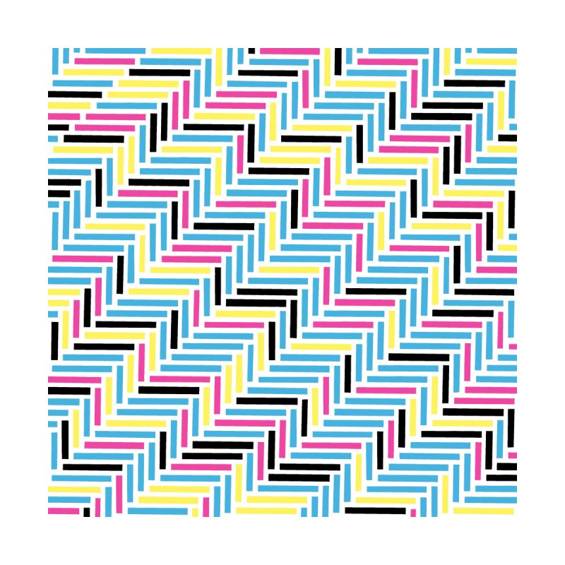 Herringbone 45 CMYK by Project M's Artist Shop