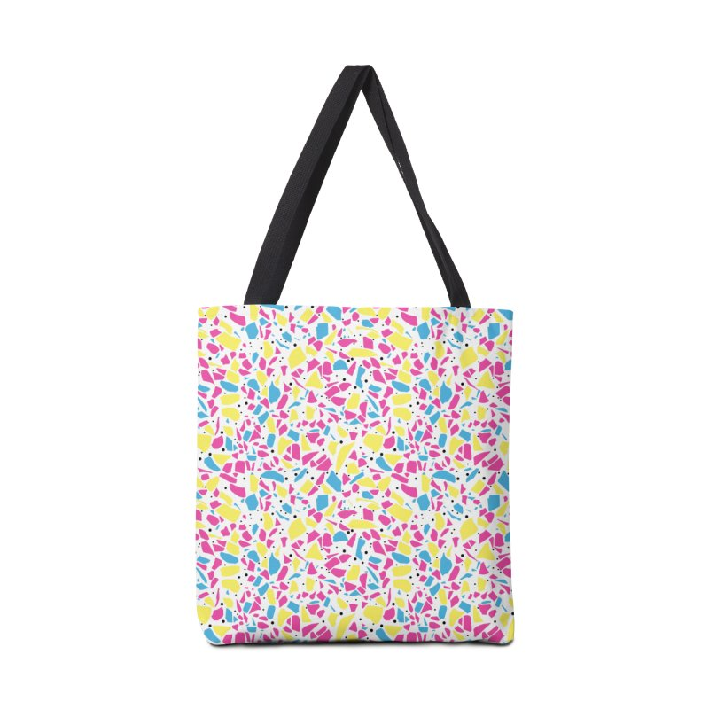 Terrazzo Spot CMYK Accessories Tote Bag Bag by Project M's Artist Shop