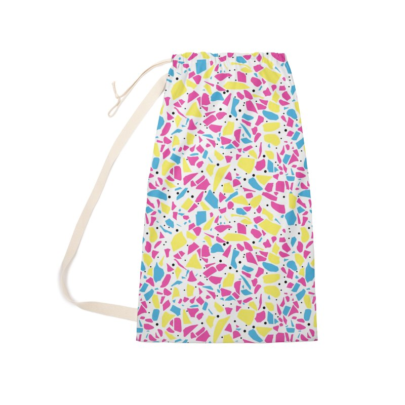 Terrazzo Spot CMYK Accessories Laundry Bag Bag by Project M's Artist Shop