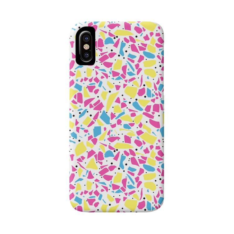 Terrazzo Spot CMYK Accessories Phone Case by Project M's Artist Shop