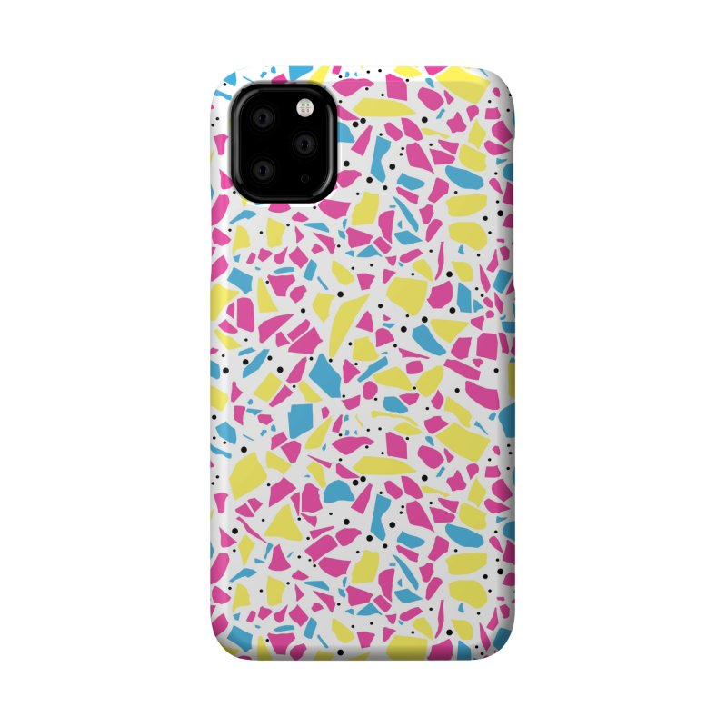 Terrazzo Spot CMYK Accessories Phone Case by Project M's Artist Shop