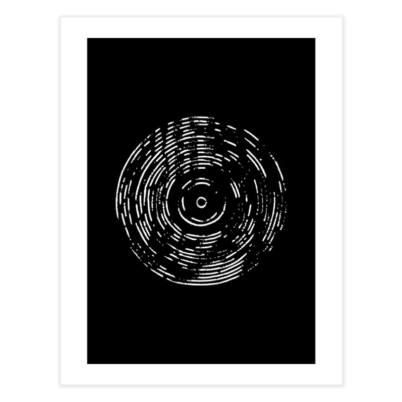 Record White in Fine Art Print by Project M's Artist Shop