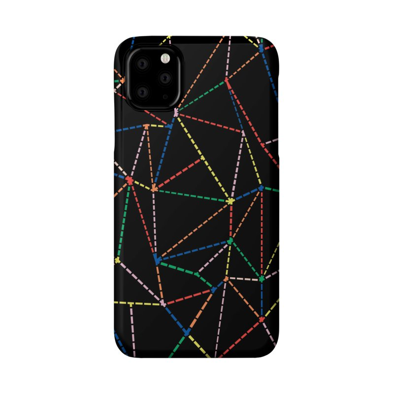 Ab Dotted Color Lines B Accessories Phone Case by Project M's Artist Shop
