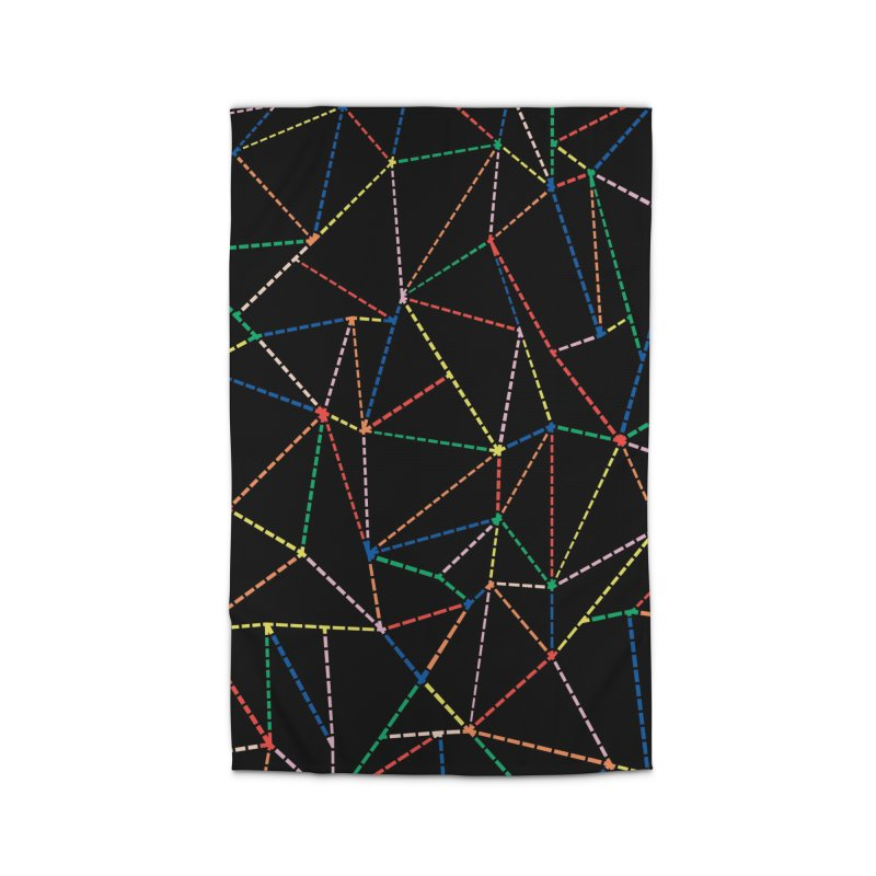 Ab Dotted Color Lines B Home Rug by Project M's Artist Shop