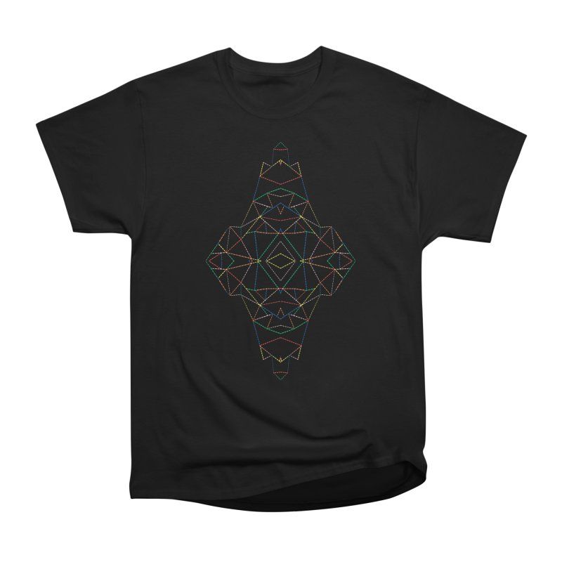 Ab Dotted Color Lines B Women's Heavyweight Unisex T-Shirt by Project M's Artist Shop