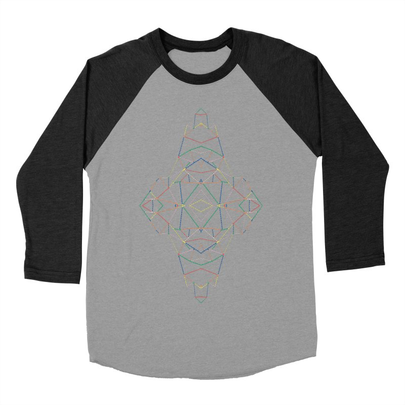 Ab Dotted Color Lines B Women's Baseball Triblend Longsleeve T-Shirt by Project M's Artist Shop