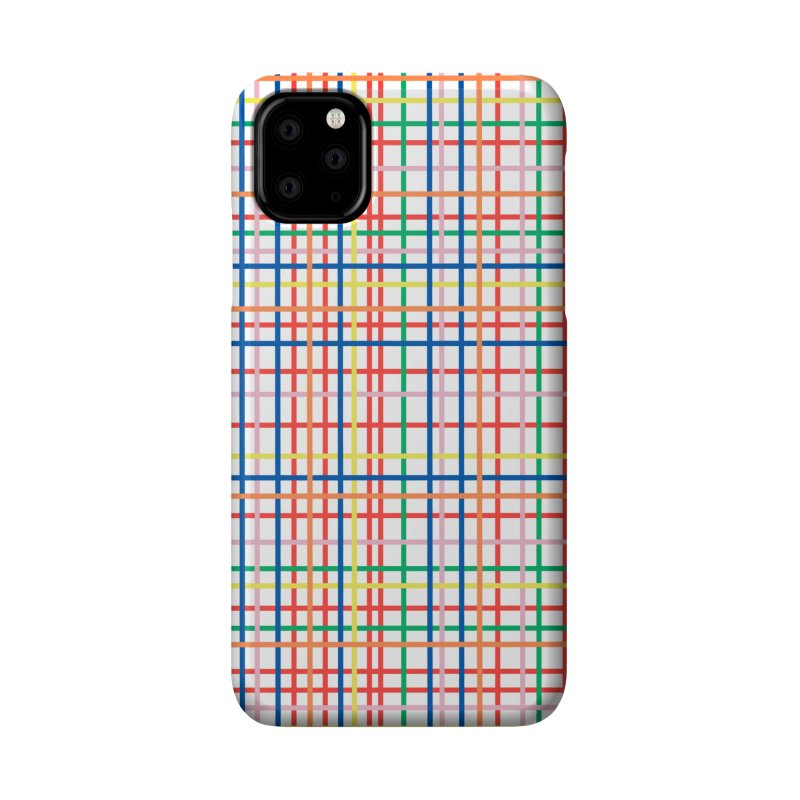 Rainbow Weave Accessories Phone Case by Project M's Artist Shop