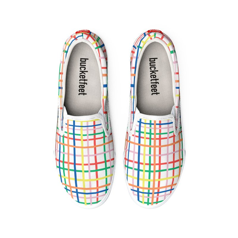 Rainbow Weave Men's Shoes by Project M's Artist Shop