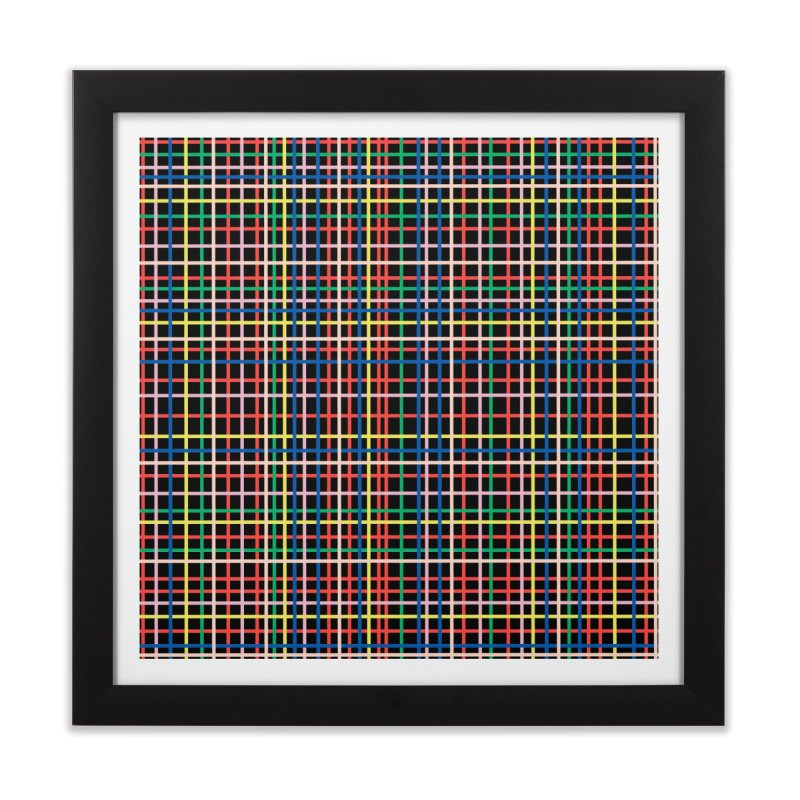 Rainbow Weave B Home Framed Fine Art Print by Project M's Artist Shop