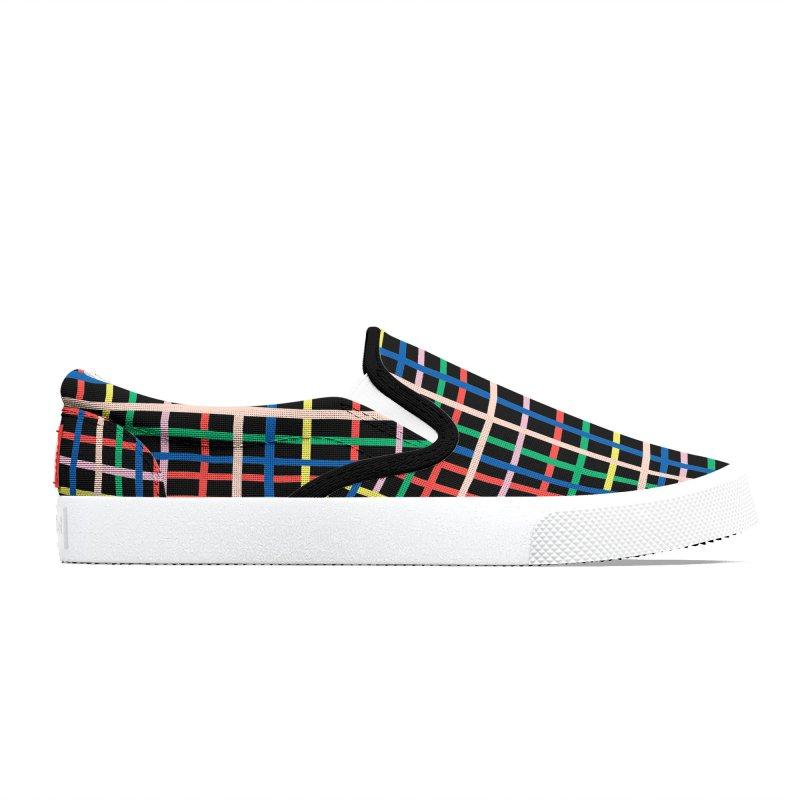 Rainbow Weave B Men's Shoes by Project M's Artist Shop