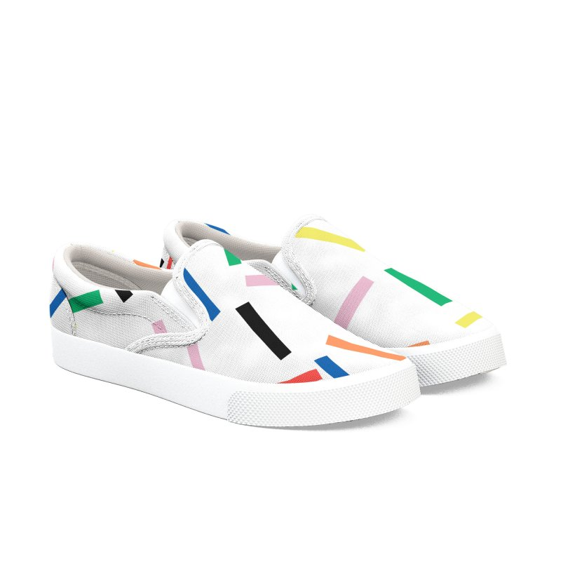 Sprinkles Fresh Men's Slip-On Shoes by Project M's Artist Shop