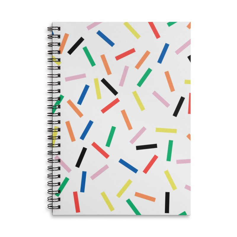 Sprinkles Fresh Accessories Lined Spiral Notebook by Project M's Artist Shop