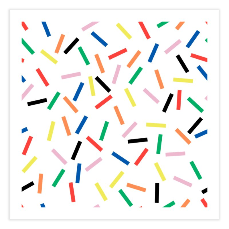 Sprinkles Fresh Home Fine Art Print by Project M's Artist Shop