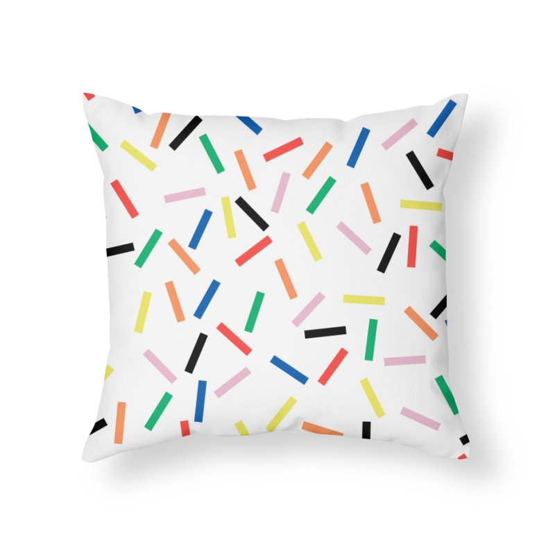 Sprinkles Fresh Home Throw Pillow by Project M's Artist Shop