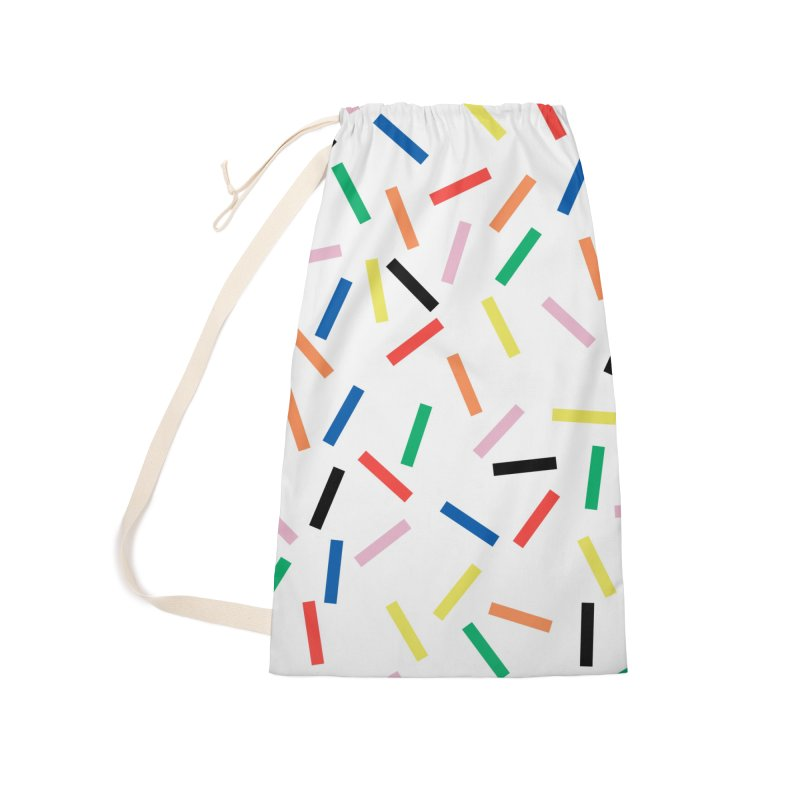 Sprinkles Fresh Accessories Laundry Bag Bag by Project M's Artist Shop
