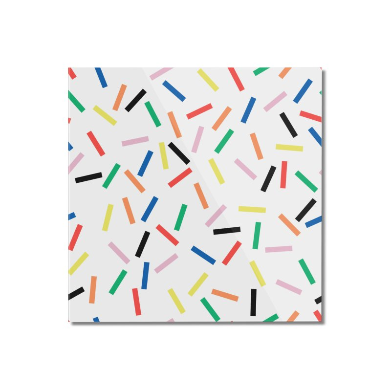Sprinkles Fresh Home Mounted Acrylic Print by Project M's Artist Shop