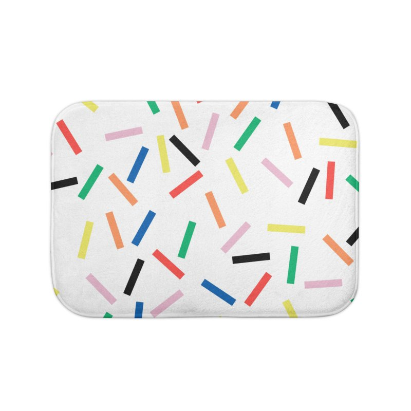 Sprinkles Fresh Home Bath Mat by Project M's Artist Shop