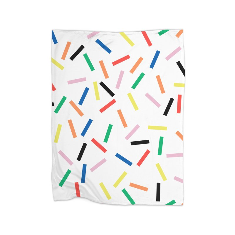 Sprinkles Fresh Home Fleece Blanket Blanket by Project M's Artist Shop