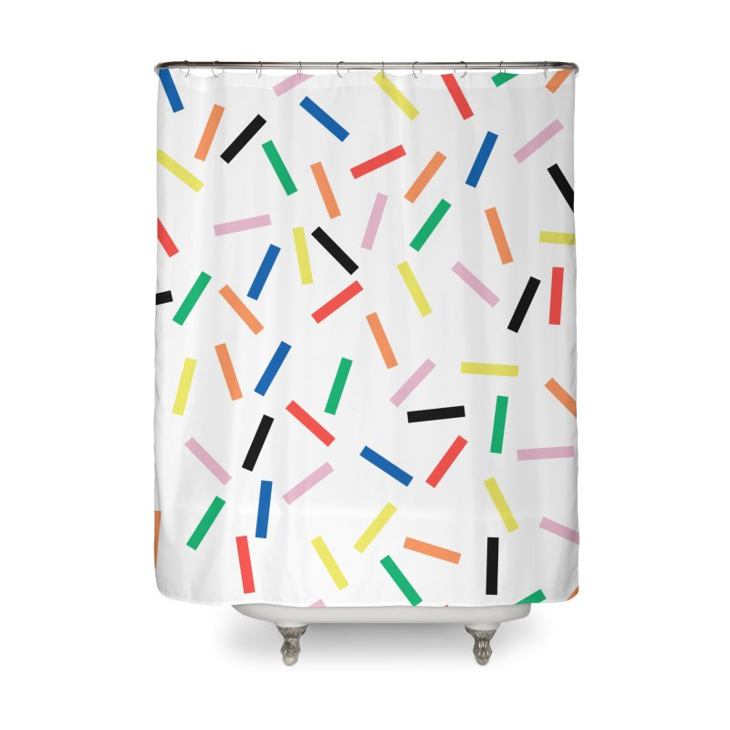Sprinkles Fresh Home Shower Curtain by Project M's Artist Shop