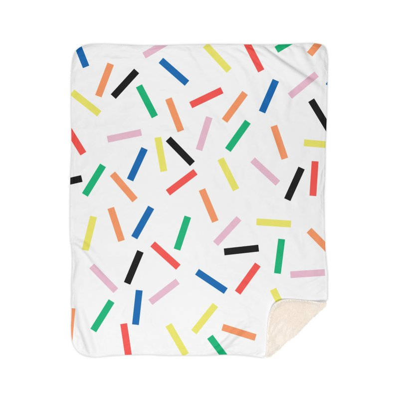 Sprinkles Fresh Home Sherpa Blanket Blanket by Project M's Artist Shop