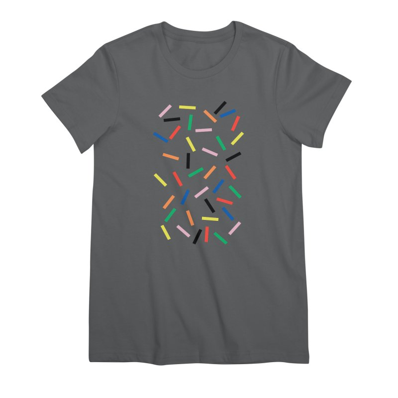 Sprinkles Fresh Women's Premium T-Shirt by Project M's Artist Shop