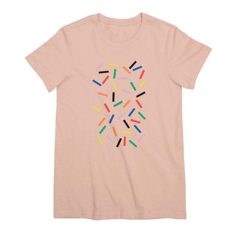 Sprinkles Fresh Women's Premium T-Shirt by Project M's Artist Shop